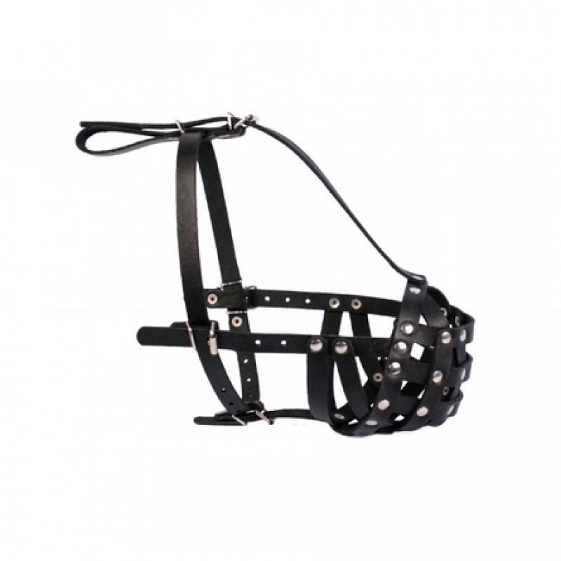 Collar Намордник для собак, обхват морды 33 см, длина морды 13 см, черный