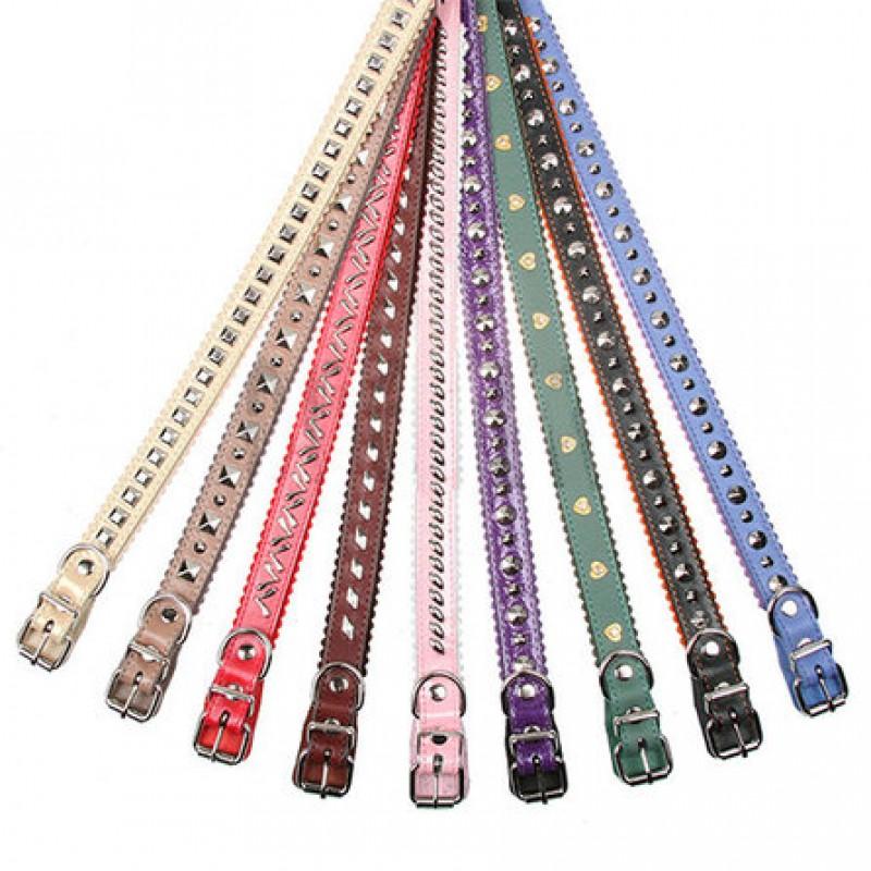 Dogger Ошейник для собак, подвернутый, фурнитура, цветной, ширина 2,5 см, длина 45-60 см