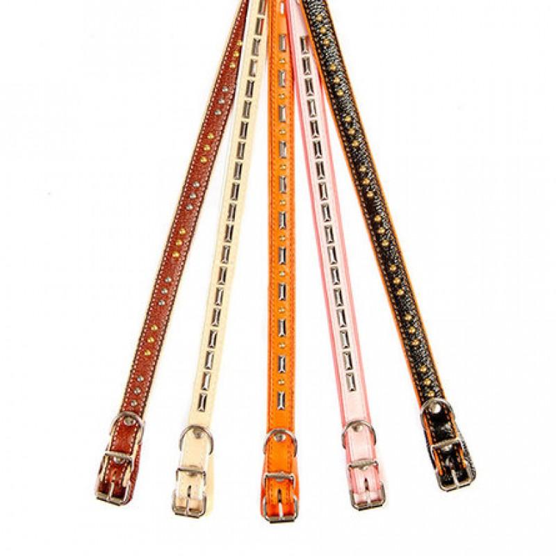 Dogger Ошейник для собак, подвернутый, фурнитура, ширина 1,5 см, длина 25-45 см