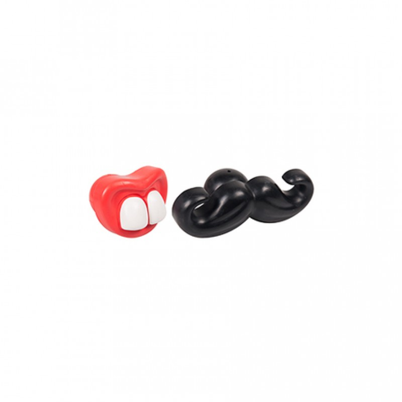 Karlie резиновая игрушка «Усы и рот» для собак