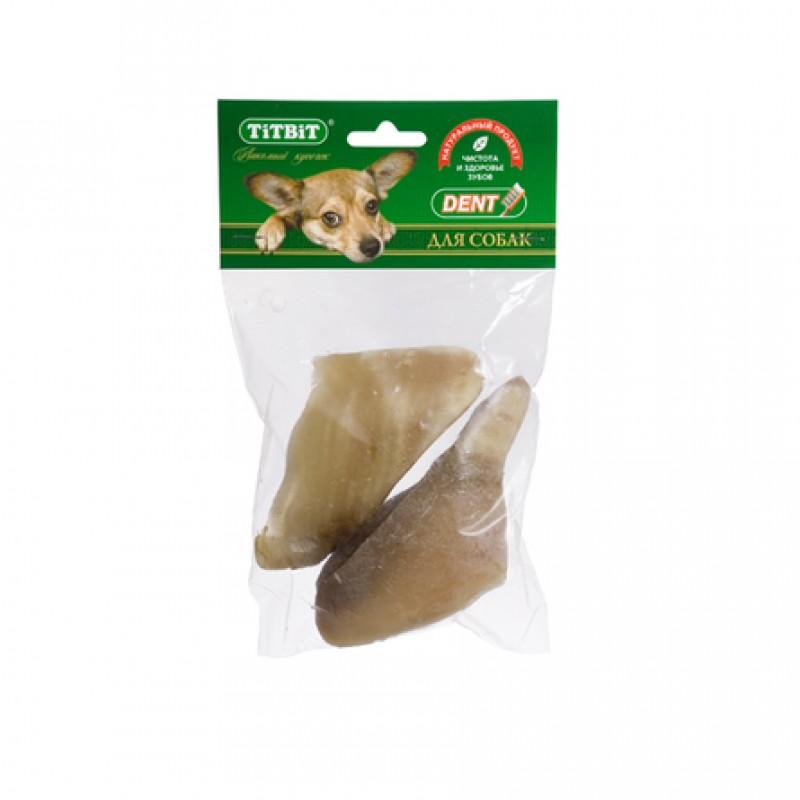 TiTBiT Копыто говяжье для взрослых собак мелких и средних пород, 186 гр
