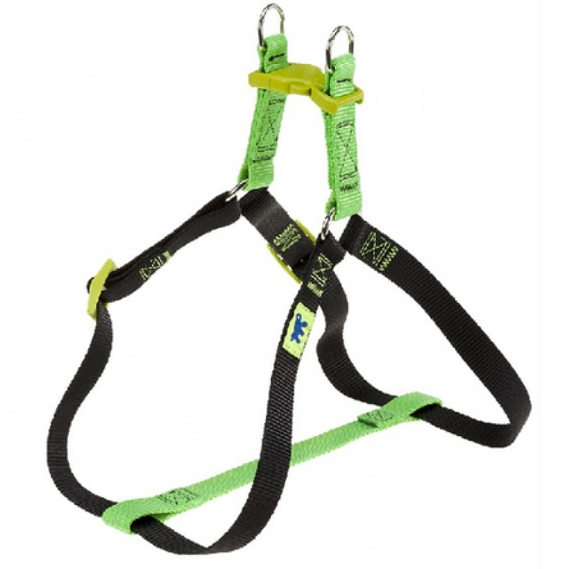 Ferplast Easy Colours P Шлейка для собак, ширина 1 см, обхват 36-54 см, зеленая