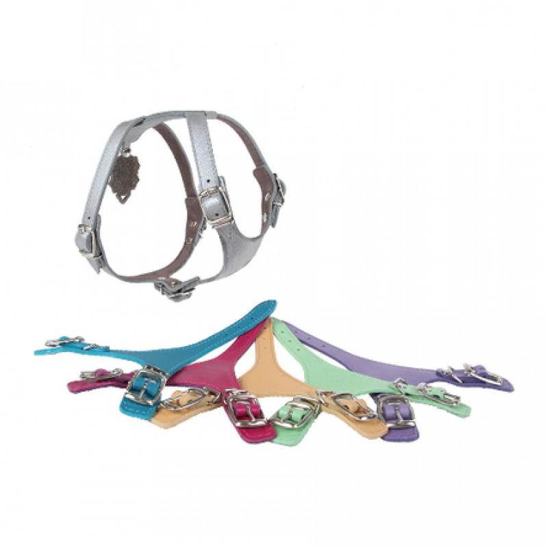 Dogger Шлейка для собак, ширина 1,2 см, объем 35-45 см, цветная