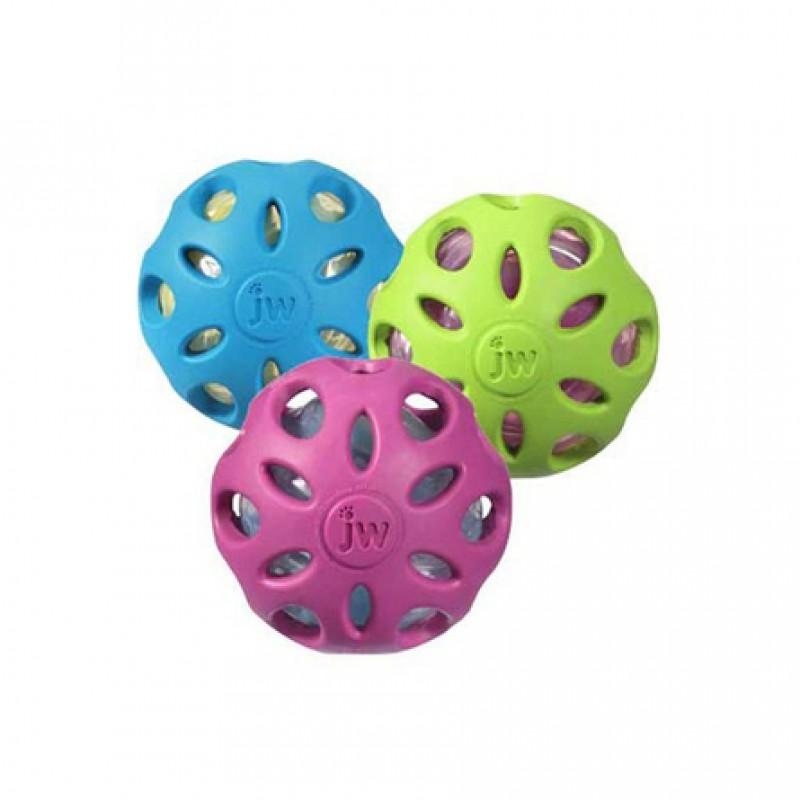 J.W. Pet Игрушка для собак Crackle & Crunch Мяч-сетка, большой
