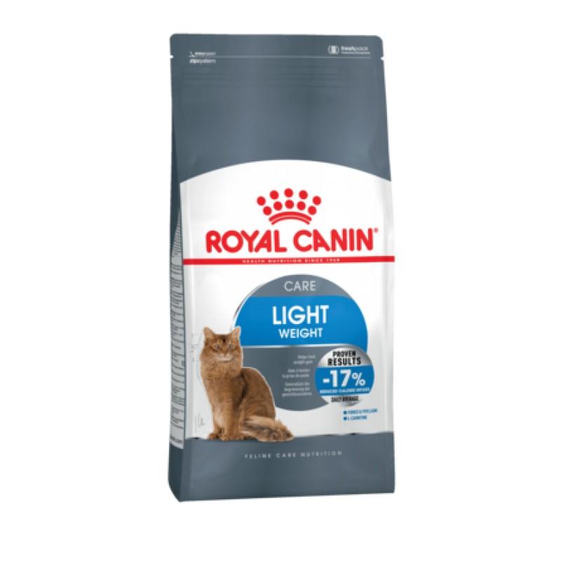 Royal Canin Light Облегченный сухой корм для склонных к полноте взрослых кошек, 1,5 кг