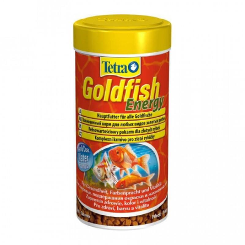 Tetra Goldfish Energy Основной корм для всех видов золотых рыбок, 250 мл