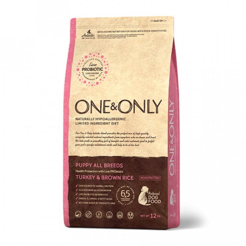 One&Only Turkey & Rice KITTEN сухой корм для котят (индейка с рисом), 400 гр