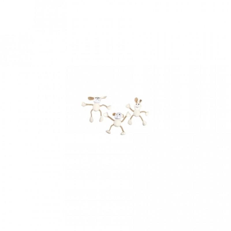 Flamingo ''Животное на веревке'' игрушка для собак