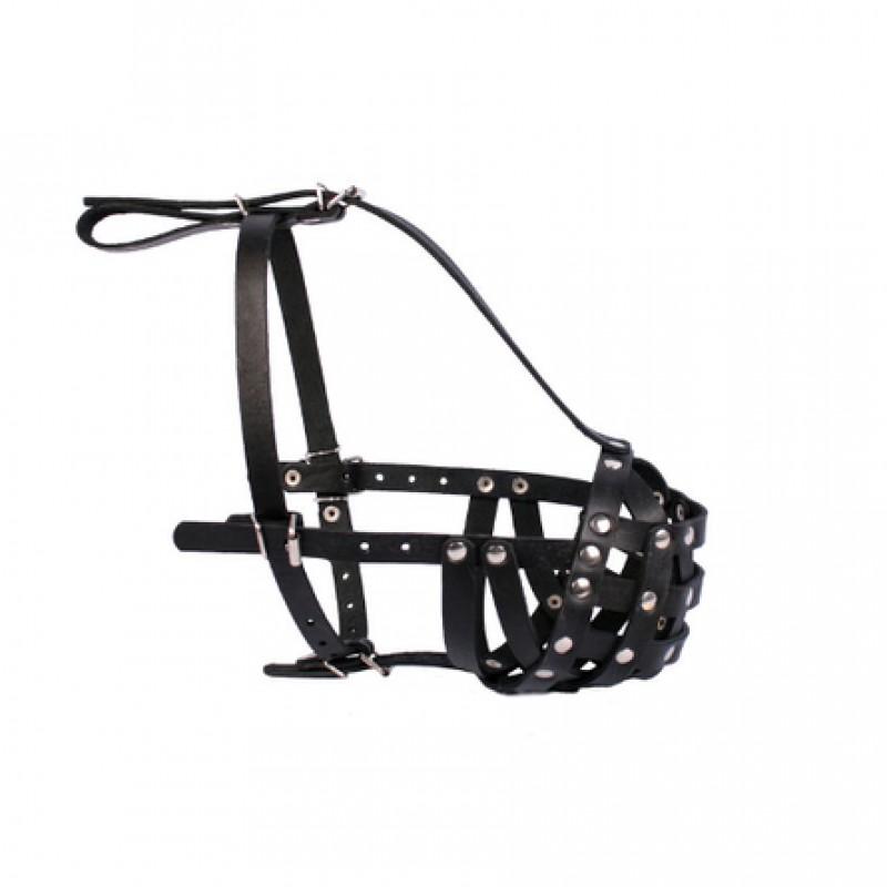 Collar Намордник твердый для собак, обхват морды 38 см, длина морды 5 см, черный