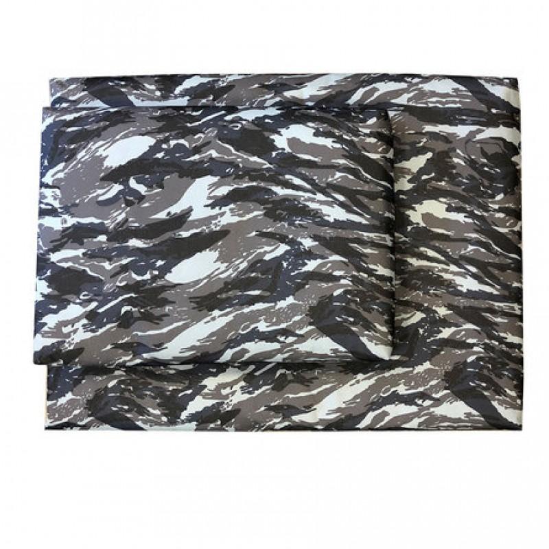 CLP Лежак для животных со съемным чехлом №5 (хаки синий)