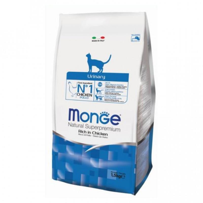Monge Cat Urinary Сухой корм для кошек профилактика МКБ, 1,5 кг