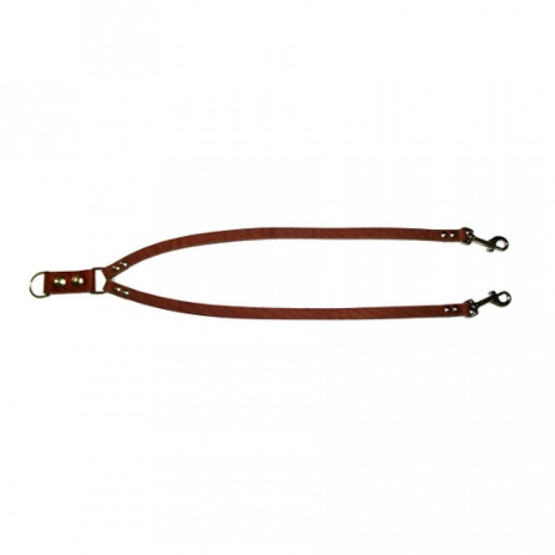 Аркон Сворка для собак, ширина 1,2 см, цвет коньячный