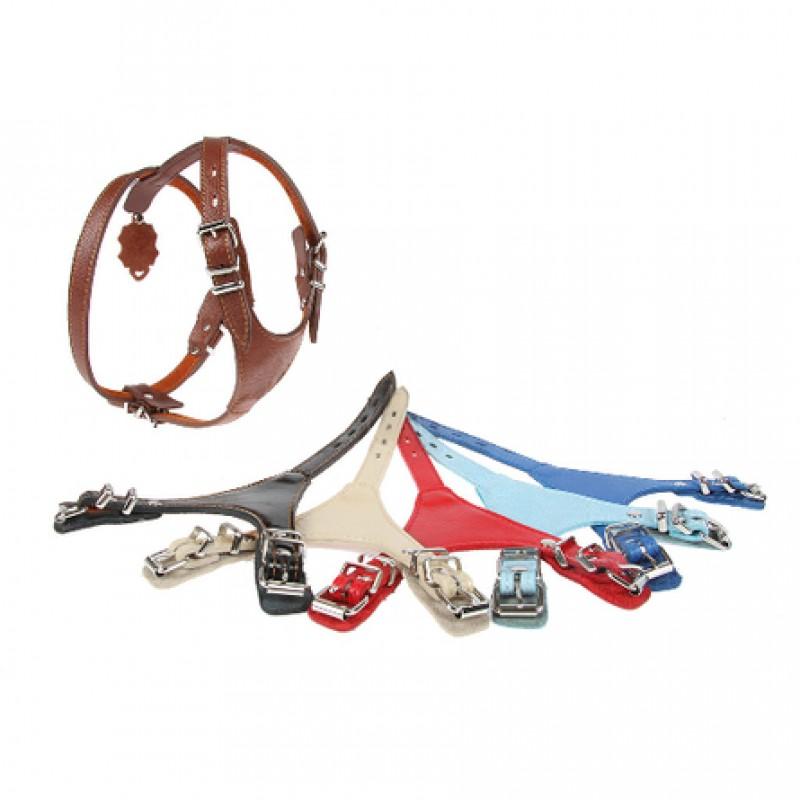 Dogger Шлейка для собак, ширина 1,5 см, объем 45-55 см, цветная