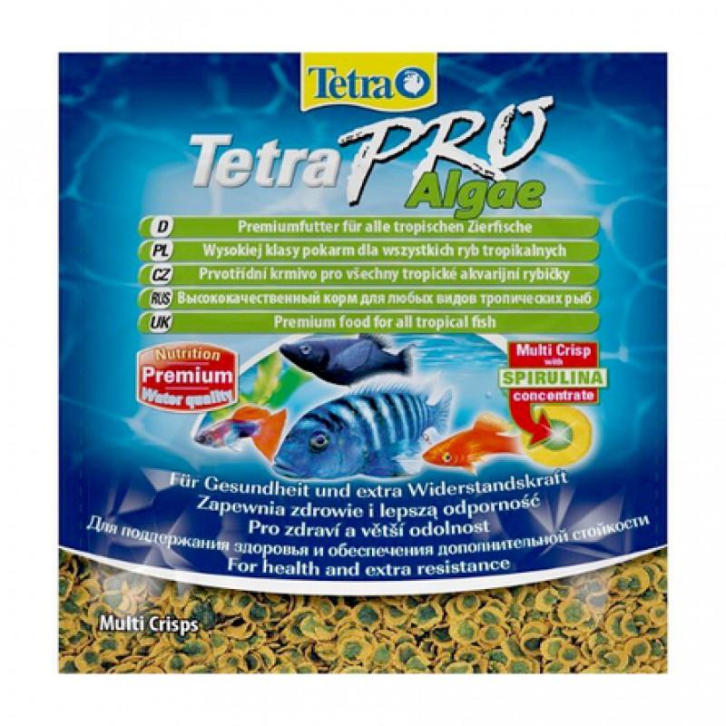 TetraPro Algae Основной корм для всех видов рыб, 12 гр