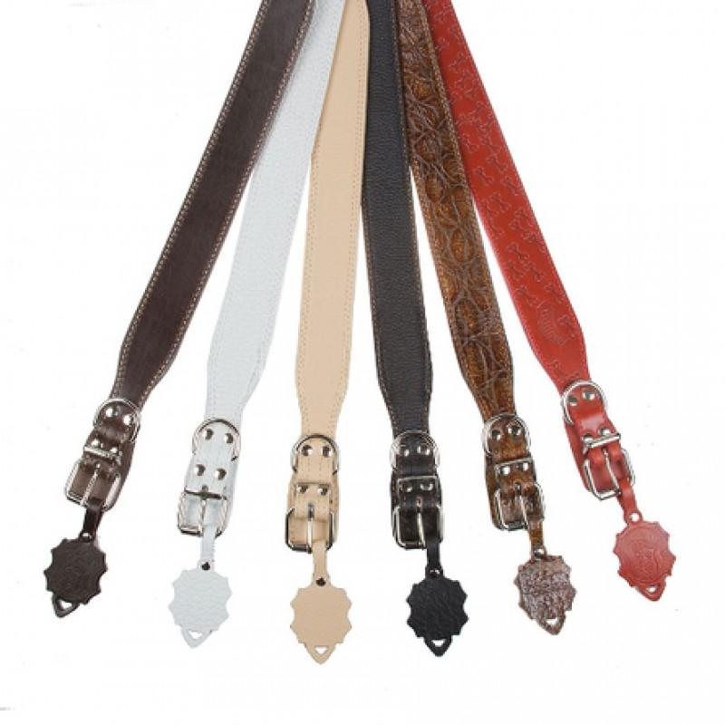 Dogger Ошейник для собак с расширением цветной, ширина 2,5 см, длина 45-60 см