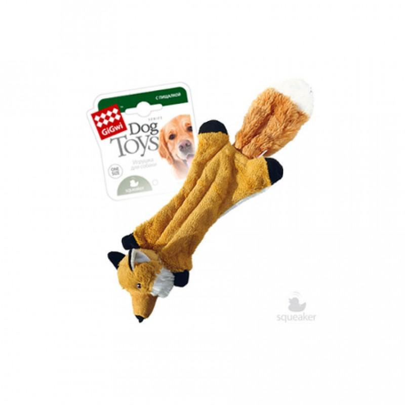 GiGwi Игрушка для собак Шкурка лисы