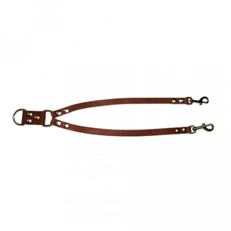 Аркон Сворка для собак, ширина 1,6 см, цвет коньячный