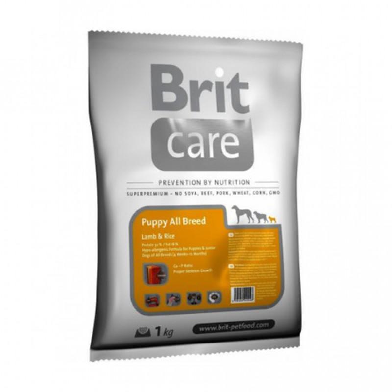 Brit Care Puppy All Breed Сухой корм для щенков всех пород (с ягненком и рисом), 1 кг