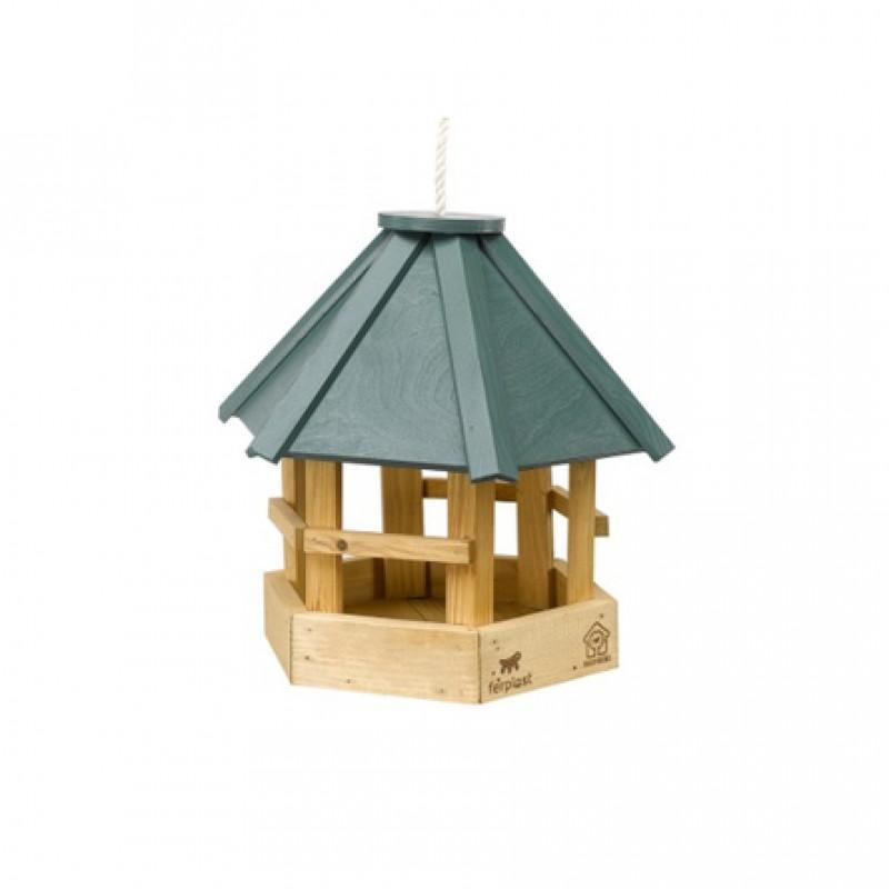 Ferplast Уличная кормушка для птиц NATURA F8, деревянная