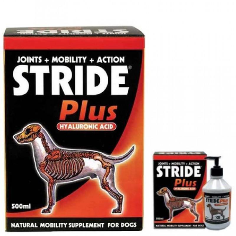 Stride Plus Кормовая добавка для собак и щенков для опорно-двигательного аппарата, 500 мл