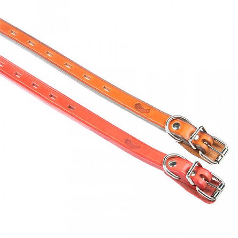 Dogger Ошейник для щенков, с тиснением, цветной, ширина 2 см, длина 35-55 см