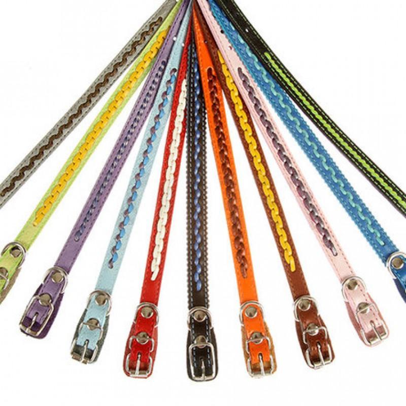 Dogger Ошейник для собак, плетеный, цветной ширина 1 см