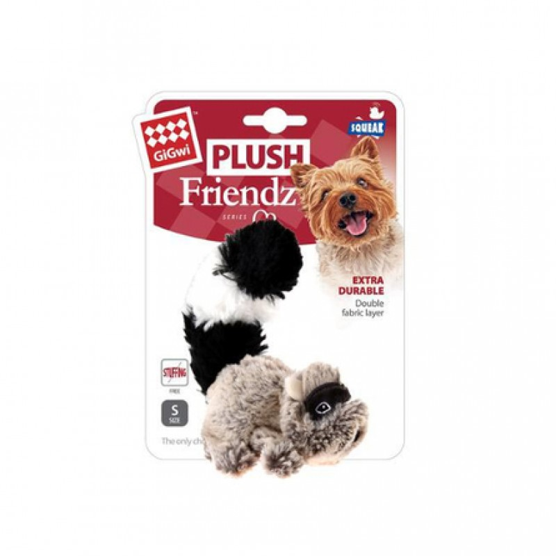 GiGwi Friendz игрушка для собак, енот