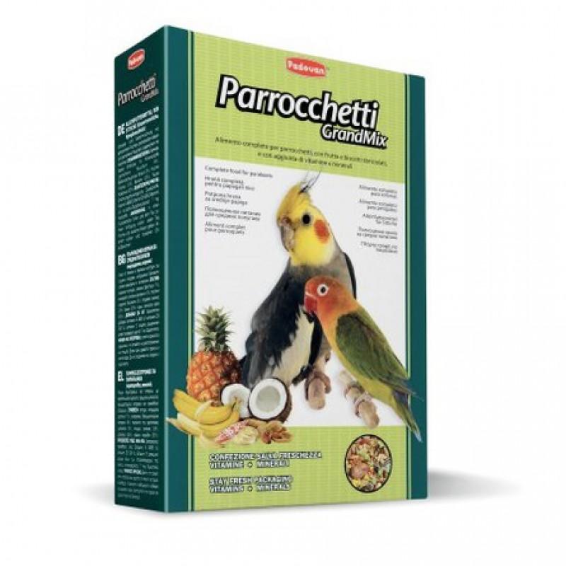 Padovan Grandmix Parrocchetti Корм для средних попугаев, 850 гр