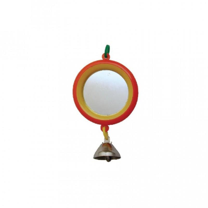 RedPlastic Зеркало для птиц, с колокольчиком