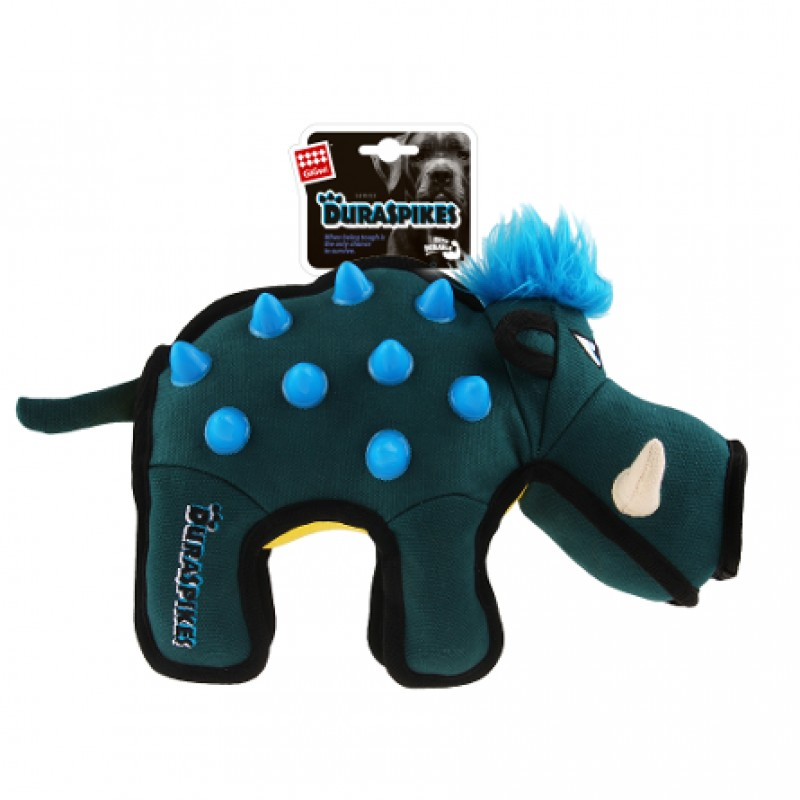 GiGwi Duraspikes Игрушка для собак Кабан с резиновыми вставками