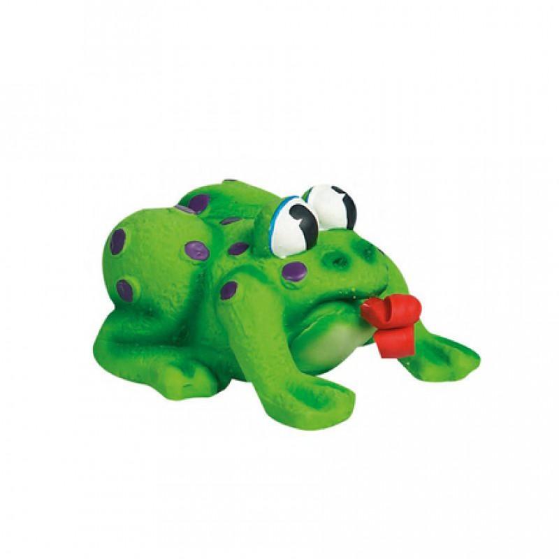 Flamingo Лягушка Pop-Up игрушка для собак