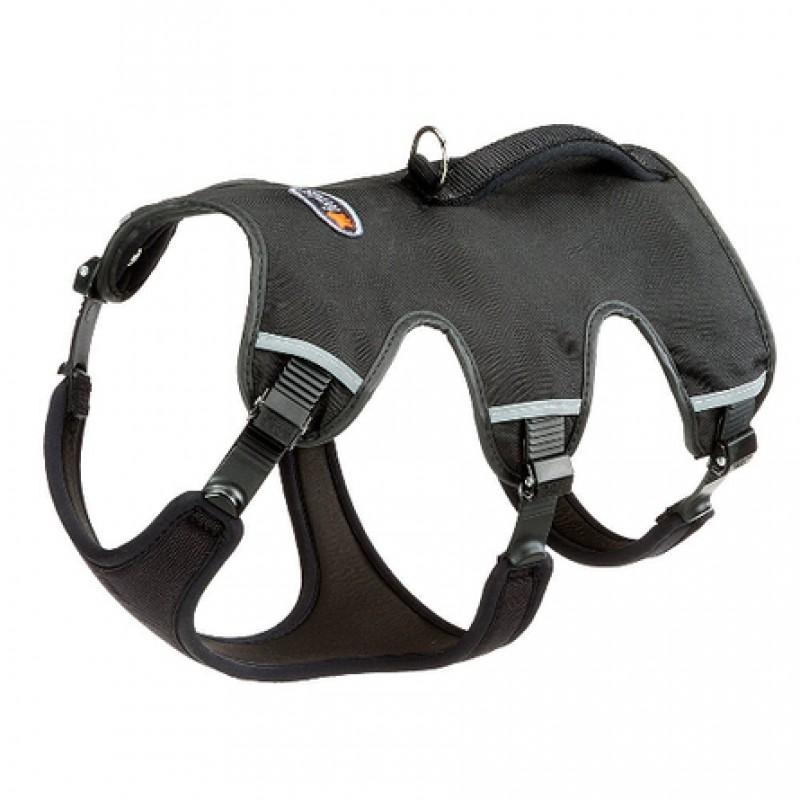 Ferplast Ergotrekking P Шлейка для собак, обхват шеи 37-47 см, обхват груди 55-65 см, черная
