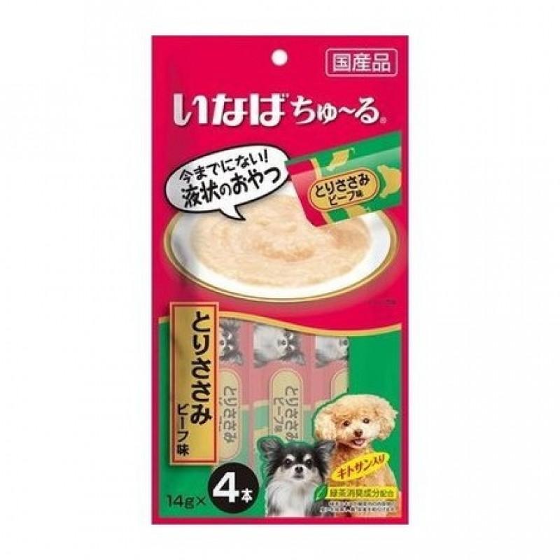 INABA CIAO Лакомство для взрослых собак (телятина), 56 гр