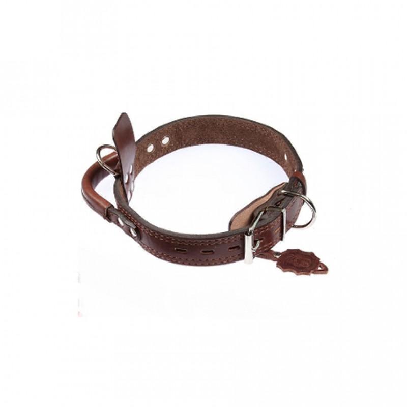 Dogger Ошейник для собак, с биркой и ручкой, ширина 4 см, длина 55-70 см