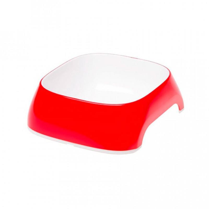 Ferplast Glam Large Миска для собак, красная, пластик