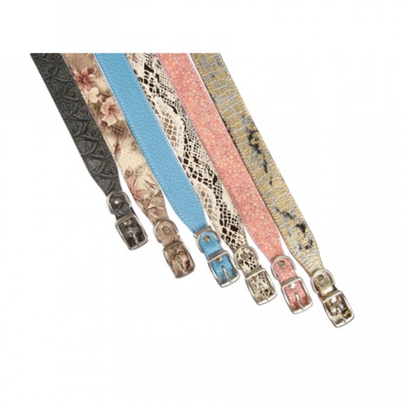 Dogger Ошейник для собак, с расширением цветной, ширина 1,5 см, длина 25-45 см