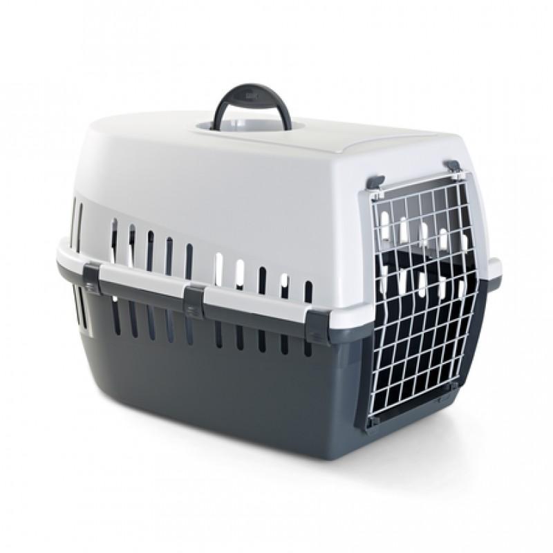 Savic Trotter 3 Пластиковая переноска для небольших животных, серая