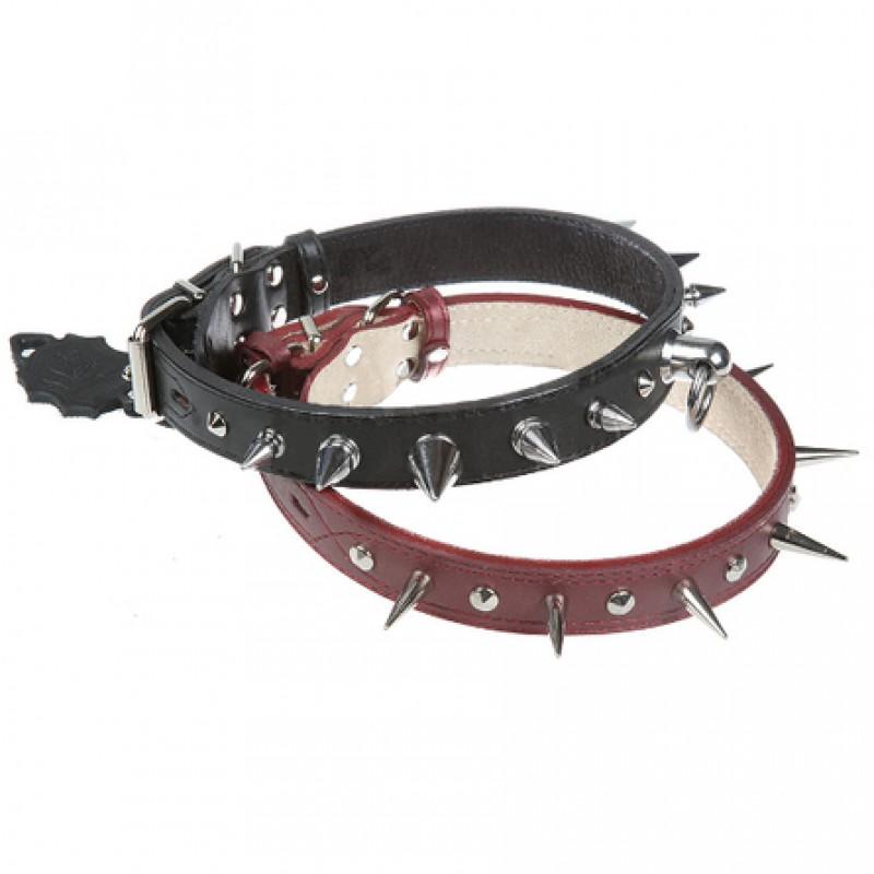 Dogger Ошейник для собак, с шипами, ширина 3 см, длина 45-60 см