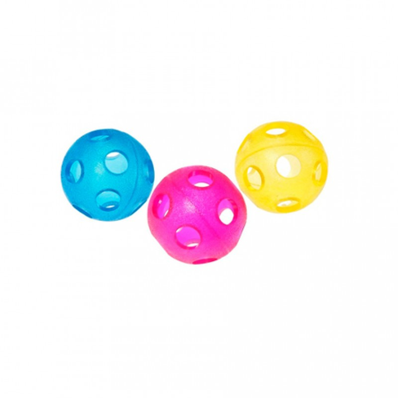 Karlie Игрушка для собак ''Мяч с отверстиями''