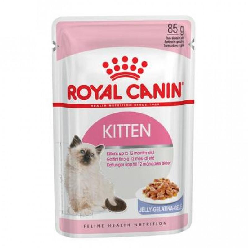 Royal Canin Kitten Instinctive Кусочки паштета в желе для котят, 85 гр