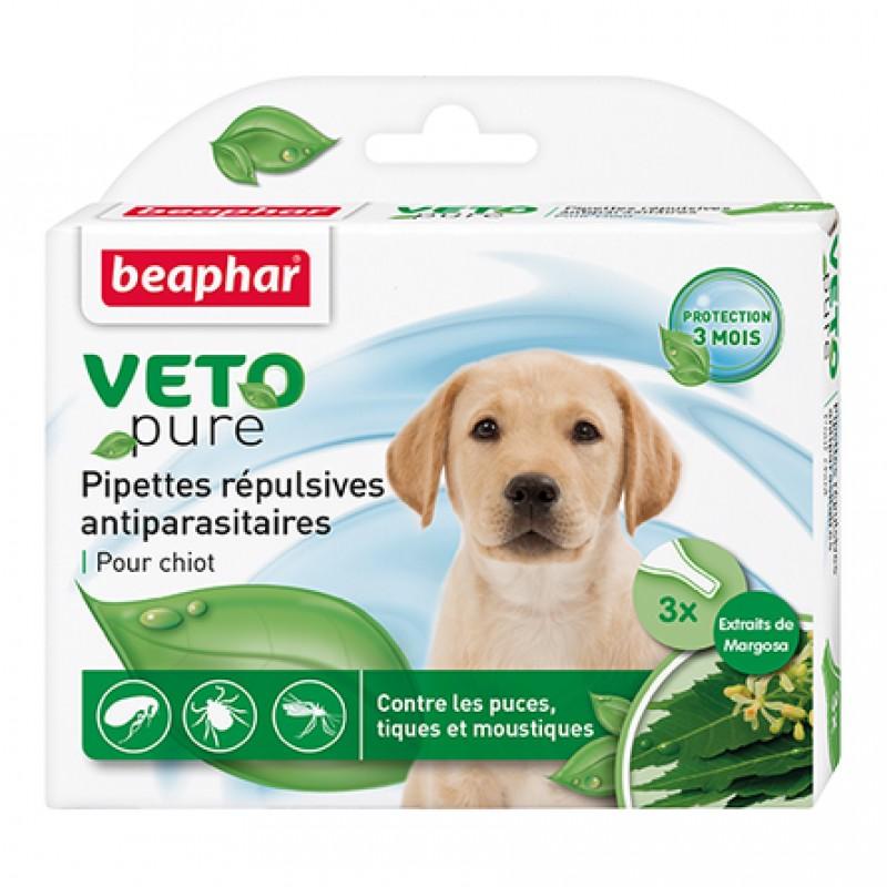 Beaphar VETO pure БИО капли от блох и клещей для щенков