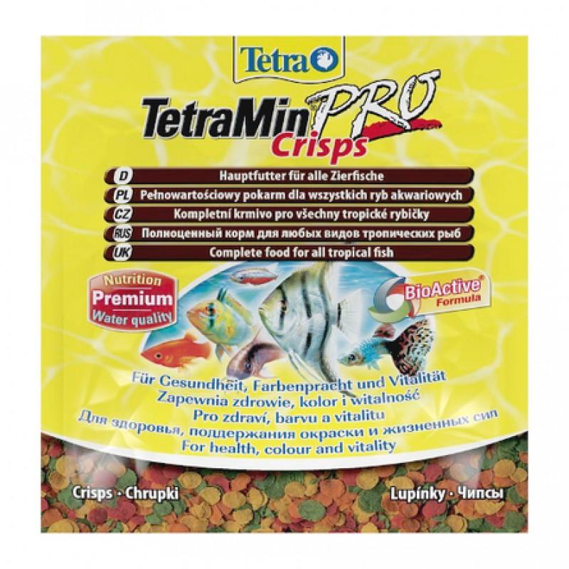 TetraMin Pro Crisps Основной корм для всех видов рыб, 12 гр