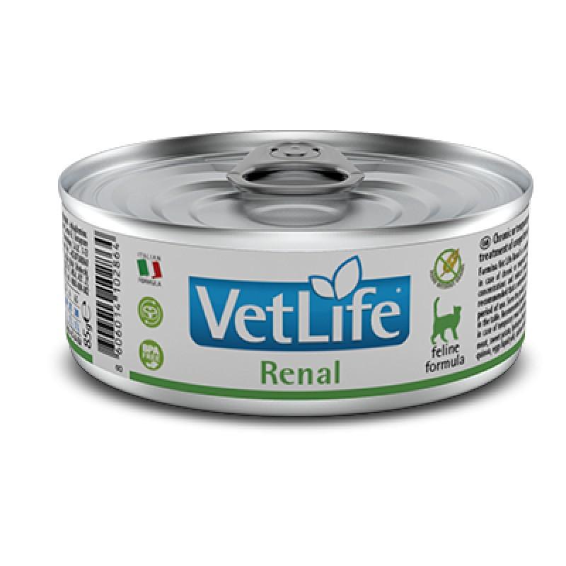 Farmina VetLife Renal Паштет для кошек с хронической почечной недостаточностью, 85 гр