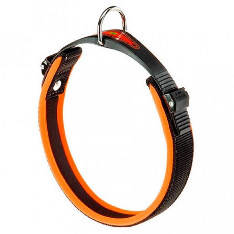 Ferplast Ошейник для собак ''Ergocomfort'', ширина 2,5 см, длина 51 см, оранжевый
