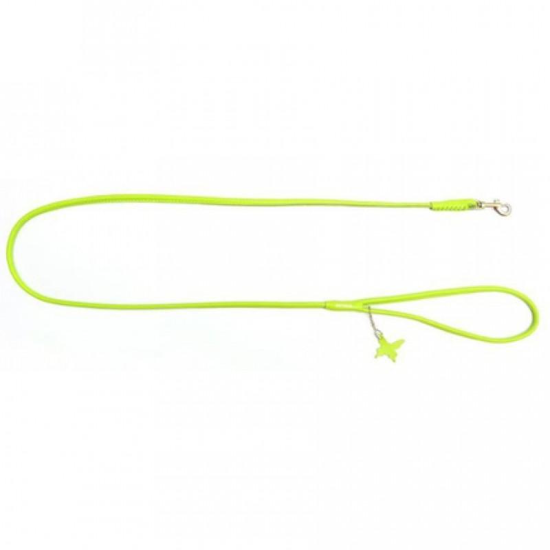 CoLLaR GLAMOUR Поводок круглый зеленый (ширина 8 мм, длина 122 см)