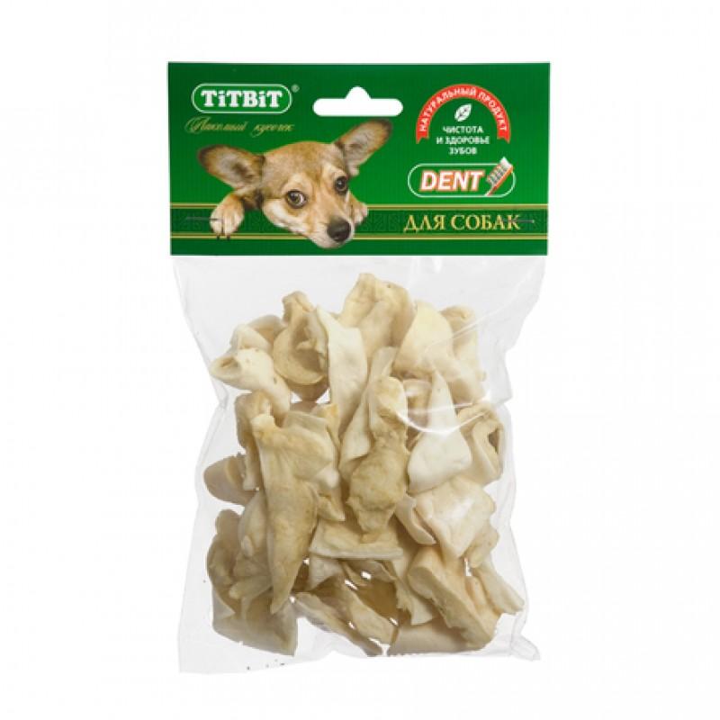 TiTBiT Хрустики бараньи для взрослых собак мелких и средних пород, 45 гр