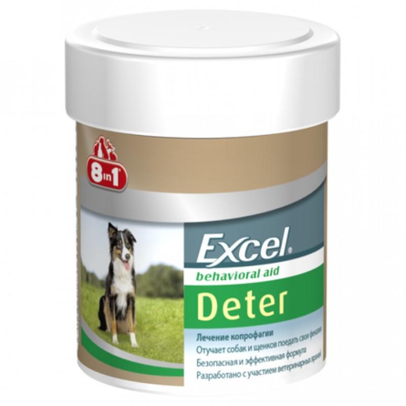Excel Deter Кормовая добавка для собак и щенков от поедания экскрементов, 100 таблеток