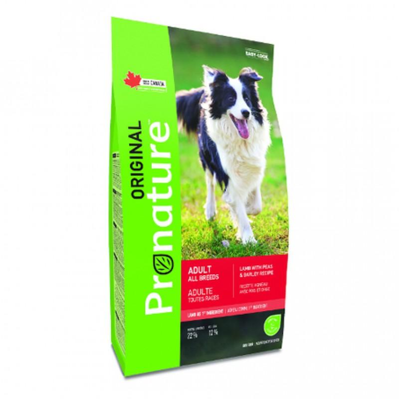 Pronature Original NEW Сухой корм для взрослых собак всех пород (с ягнёнком), 11,3 кг