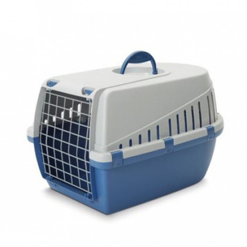 Savic Trotter 2 Пластиковая переноска для животных, синяя