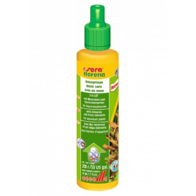 Sera Florena жидкое удобрение для аквариумных растений, 50 мл